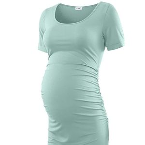 Maternity Bodycon Knee Length Fitted Dress